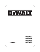 DeWalt D26422 side 1