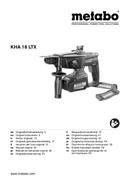 Metabo KHA 18 LTX Set Seite 1