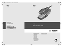 Pagina 1 del Bosch PSS 200 AC