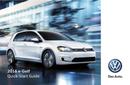 Volkswagen e-Golf (2016) Seite 1