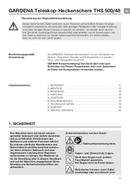 Gardena THS 500/48 Seite 2