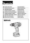 Makita BDF445RHE page 1