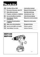 Makita BDF458ZX page 1