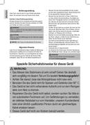 Página 2 do Clatronic SM 3577