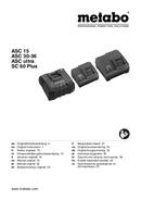 Página 1 do Metabo SE 18 LTX 2500