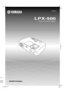 Yamaha LPX-500 side 1