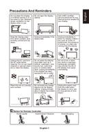 NEC MultiSync E436 pagină 3