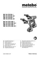 página del Metabo SB 18 LTX-3 BL Q I 1