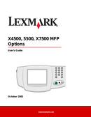 Lexmark X5500MFP side 1