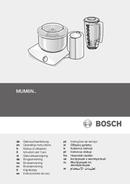Bosch MUM6N11 sivu 1