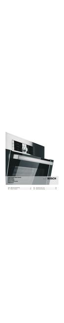 Pagina 1 del Bosch HMT75G451