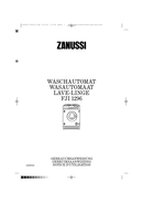 Zanussi FJI 1296 page 1