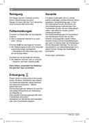 Pagina 5 del Bosch PPW3105 AxxenceEasy