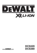 DeWalt DCS380L2 side 1