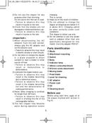 Panasonic ER131H520 page 5
