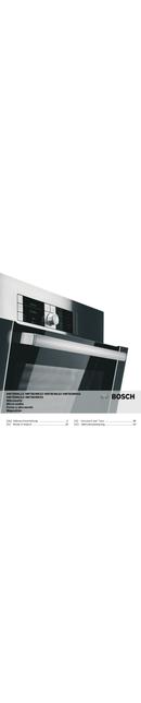 Bosch HMT85ML53 pagina 1