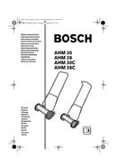 Bosch AHM 38 C pagina 1