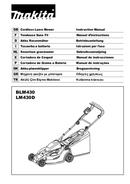Makita BLM430Z page 1