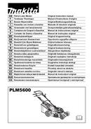 Makita PLM5600 page 1