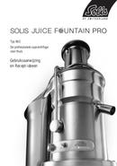 Solis Juice Fountain Pro Type 843 pagina 1