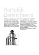 Solis Juice Fountain Pro Type 843 pagina 3