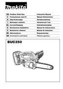 Makita BUC250Z page 1