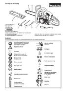Makita DCS4630 side 3
