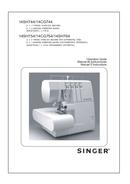 Página 1 do Singer Overlock 754