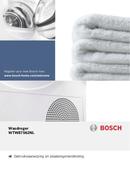 Bosch 8 Logixx WTW87562NL pagină 1