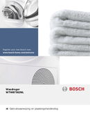 Bosch 8 Logixx WTW87562NL pagina 1