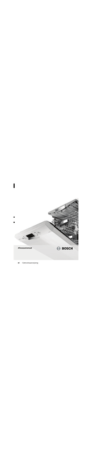 Bosch SMS69U12 pagina 1