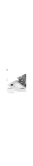 Pagina 1 del Bosch SMV99T10