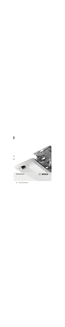 Bosch SPS50E22 pagina 1