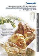 Panasonic SD-2500WXE page 1