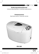 Clatronic BBA 2865 side 1