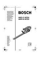 página del Bosch AHS 52 1