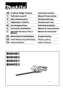 Makita BUH521Z page 1