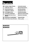 Makita BUH550RDE page 1