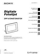 Sony DPF-A72N page 1