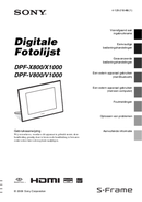 Sony DPF-V800 page 1
