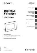Sony DPF-X85 page 1