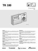 Pagina 1 del Bosch TR 100