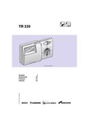 Pagina 1 del Bosch TR 220