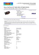 Asus GT640-2GD3 side 1