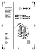 Bosch Aquatak 115 Plus pagina 1