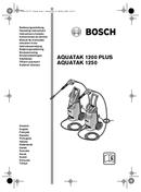 Pagina 1 del Bosch Aquatak 1200 Plus