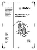 Bosch Aquatak 1250 Plus pagina 1
