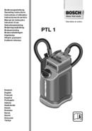 Bosch PTL 1 pagina 1