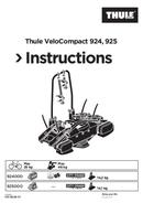 Thule VeloCompact 924 sivu 1