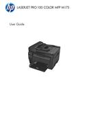 HP LaserJet Pro 100 Color MFP M175NW side 1